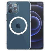 Choetech Silicon Magnetic Phone Case For iPhone 12/12pro - Clear