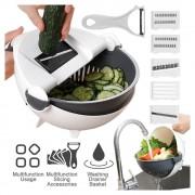 Multi-Functional Kitchen Wet Basket Vegetable Cutter