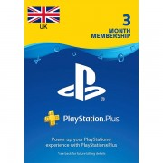 90 Days Sony Playstation Plus - UK Store