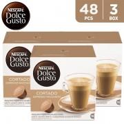 Nescafe Dolce Gusto Cortado Espresso Macchiato 100.8 g (3 x 16 capsules)