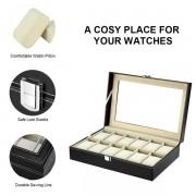 12 Grid Watch Organizer Storage Box