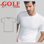 Set of 6 Half T-Shirt Oval Neck for Men's by Golf