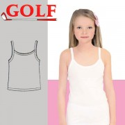 Set of 6 Shirts Sleeveless for Girls by Golf
