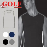 Set of 6 Colored Stretch Sleeveless Round Neck for Men's by Golf