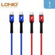LDNIO 3A Type C To Type C Cable 1m