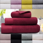 Focus 3Pcs Cotton Bath Towel Set