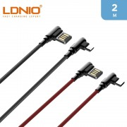 LDNIO Type C To USB A Cable 2m 90 Degree