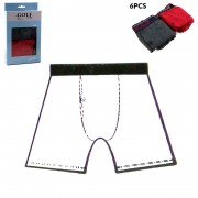 Set of 6 Touch 2 Colors Underwear Boxer for Men by Golf