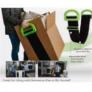 Clever Carry Lifting Heavy Boxes Wrist Strap with Hand Grip- New Product / Open Box