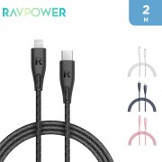 RAVPower Type-C to Lightning Cable 2m