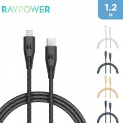 RAVPower USB-C to Lightning Cable 1.2m