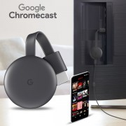 Google Chromecast 3rd Generation Streaming Media Player