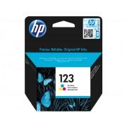 HP 123 Tri-color Ink Cartridge - Color