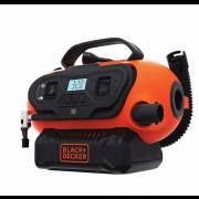 Black & Decker Multi-Power Multi-Purpose Inflator  - Black & Orange