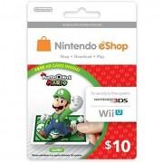 $10 NINTENDO E-Shop Card - US