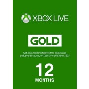 12 Months Xbox Subscription