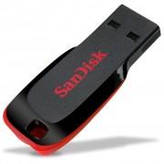 16GB SanDisk Cruzer Blade USB Flash Drive – Black