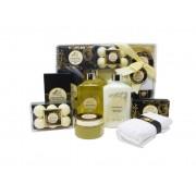 Paris Glam Luxury Vanilla Bath and Shower Set