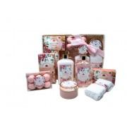 Paris Glam Rose Water Bath and Shower Set