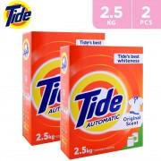 Tide Automatic Laundry Powder Detergent 2 x 2.5Kg
