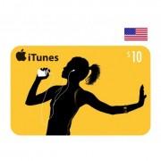 $10 Apple iTunes Card USA