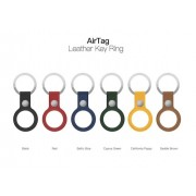 AirTag Leather Case With Keychain