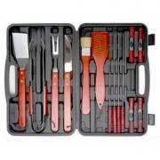 18Pcs Stainless Steel BBQ Tool Set