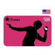 $500 Apple iTunes Digital Card USA