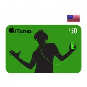 $50 Apple iTunes Card USA