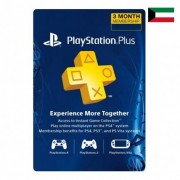 90 Days Sony Playstation Plus Subscription - Kuwait Store