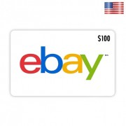 eBay $100 Gift Card - Delivery by E-mail
