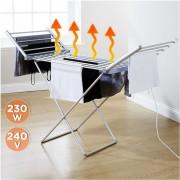 Large Electric Foldable Aluminum Clothes Hanger