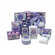 Paris Glam Purple Lavander Bath and Shower Set