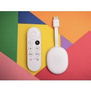 Google Chromecast with Google TV 4K - White