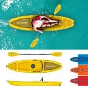 SEAFLO Sit on Top Kayak with Light Aluminum Paddle