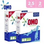 OMO Automatic Fabric Cleaning Powder 2x2.5kg