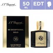 50ml S.T.Dupont Be Exceptional Gold EDP For Him