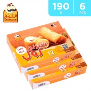 Cheese Springroll 6 X 190 g By Caftira AlShowaikh - Free Delivery