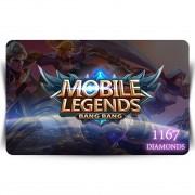 Mobile Legends - 1167 diamonds Digital Code