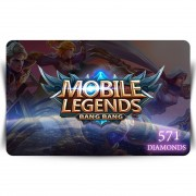 Mobile Legends - 571 diamonds Digital Code