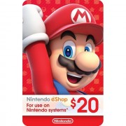 $20 NINTENDO E-Shop Card - US