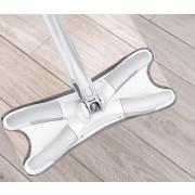 X-Type Flexible Flat Floor Mop - Sliver