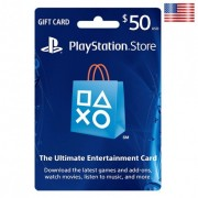 $50 SONY Playstation Network Card US