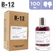 100ml B-12 Purple Oud-01 Eau de Parfum For Him & Her