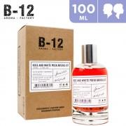 100ml B-12 Rose And White Musk Absolu-07 Eau de Parfum For Him & Her