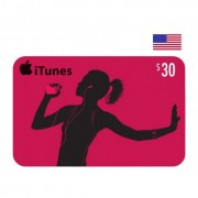 $30 Apple iTunes Card USA
