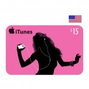 $15 Apple iTunes Card USA