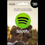 $30 Spotify Card USA