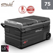 Kashta 75L Smart Fridge/Freezer - Dual Zone - (Cooling to -20 C) - Portable - Trolley - Extended Battery