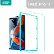 """ESR Tempered-Glass Screen Protector for iPad Pro 11"""" 2021/2020/2018 - Clear"""